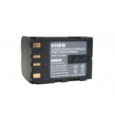 Batteria BN-V408 per JVC DV1800 / DVL100 / ZR30, 1600 mAh
