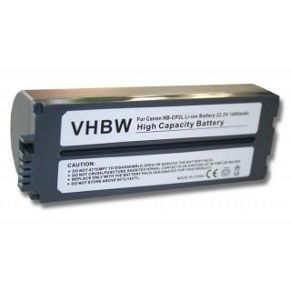 Batteria NB-CP1L / NB-CP2L per Canon Selphy CP-100 / CP-200, 1400 mAh