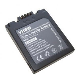 Batteria CGA-S001E per Panasonic Lumix DMC-F1 / DMC-FX1 / DMC-FX5, 500 mAh