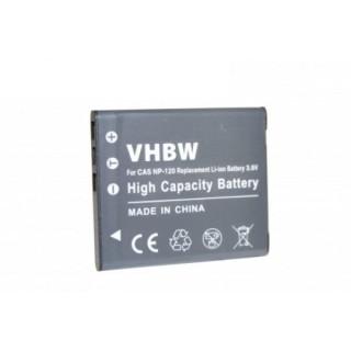 Batteria NP-120 per Casio Exilim EX-S200 / EX-ZS10 / EX-ZS30, 600 mAh
