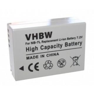 Batteria NB-7L per Canon PowerShot G10 / G11 / G12 / Powershot SX30, 700 mAh