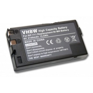 Batteria BP-711/ BP-714 / BP-722 / BP-726 / BP-729 per Canon Legria A-10 / UC-20 / ES-900, 2000 mAh