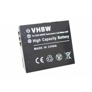 Batteria CGA-S005 per Panasonic Lumix DMC-FC01 / DMC-FX8 / DMC-LX1, 750 mAh