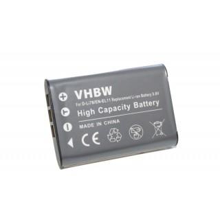 Batteria EN-EL11 per Nikon CoolPix 550 / Pentax Optio L50 / Olympus FE-370, 450 mAh