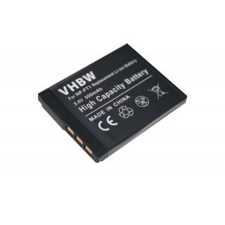 Batteria NP-FT1 per Sony Cybershot DSC-T1  / DSC-L1 / DSC-M1, 600 mAh