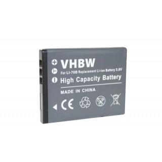 Batteria LI-70B per Olympus D-700 / FE-5040 / VG-160, 600 mAh