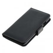 OTB custodia pieghevole per Apple iPhone 7 / 8 di pelle artificiale, nera