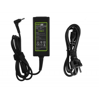 Alimentatore per notebook Acer / Asus / Samsung, 45W / 19V / 2,37A / 3,0mm x 1,1mm