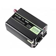 Invertitore da auto da 24V a 230V, 300W/600W