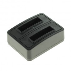 Caricabatterie per batteria Actionpro X7 / ISAW A1 / A2 Ace / A3 / Extreme, doppio, MicroUSB