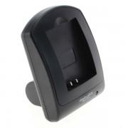 Caricabatterie per batteria Panasonic DMW-BLF19E, MicroUSB