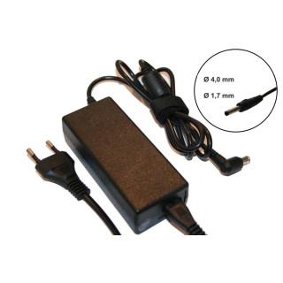Alimentatore per notebook HP / Compaq, 40W / 19V / 2,05A / 4,0mm x 1,7mm
