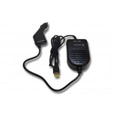 Alimentatore da auto per notebook IBM Lenovo, 45W / 20V / 2,25A / connettore rettangolare