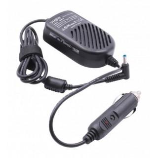Alimentatore da auto per notebook HP / Compaq, 65W / 19,5V / 3,33A / 4,5mm x 3,0mm