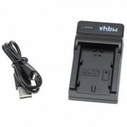 Caricabatterie per batteria Fuji NP-W235, MicroUSB