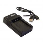Caricabatterie per batteria Casio NP-20, MicroUSB