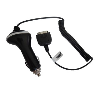 Alimentatore da auto per telefone Apple iPhone / iPod, nero, 1A