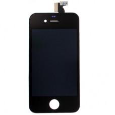 Vetro e schermo LCD per Apple iPhone 4, nero