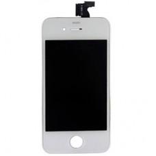 Vetro e schermo LCD per Apple iPhone 4, bianco