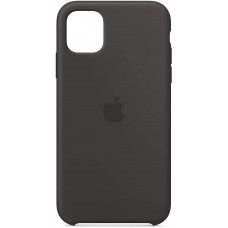 Silikonski ovitek per Apple iPhone 11, black, originale