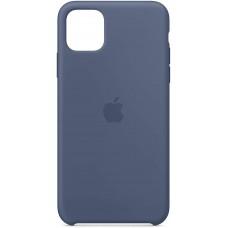 Silikonski ovitek per Apple iPhone 11 Pro Max, alaskan blue, originale