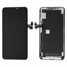 Vetro e schermo LCD per Apple iPhone 11 Pro Max, nero