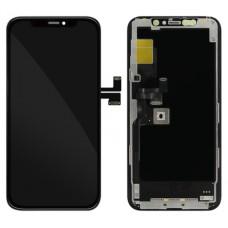 Vetro e schermo LCD per Apple iPhone 11 Pro, nero
