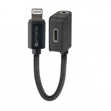 Adapter - razdelilnik SoundSplit iz Lightning na Lightning in 3,5mm priključek