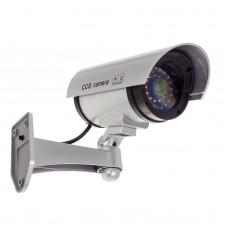 Falsa telecamera di sicurezza con lampada LED lampeggiante