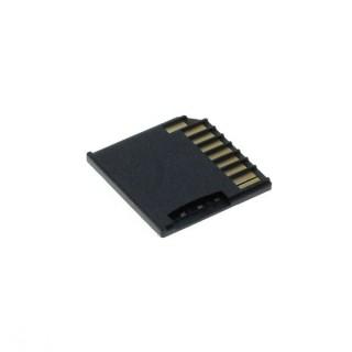 Adapter za MicroSD kartice za prenosnike Apple Macbook, črn