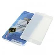 Vetro temperato prottetivo per iPhone 6 Plus / 6S Plus, Full Cover 3D, bianco
