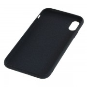 Cover in Silicone Liquido per Apple iPhone X / XS, nero
