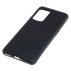 Cover in silicone per OnePlus 9 Pro, nero