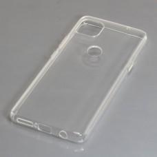 Cover in silicone per Motorola Moto G 5G, trasparente