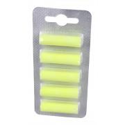 Compresse profumate universali, 5 pezzi, odore limone giallo