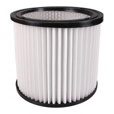 Filtro a cartuccia per Kärcher NT 221 / Rowenta RU 01 / RU 02, bianco
