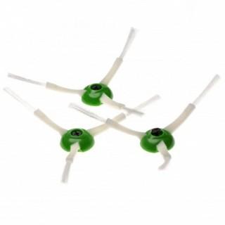 Set di spazzole laterali a tre lati per iRobot Roomba E5 / E6 / E7 / I7