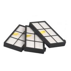 Set di filtri HEPA per iRobot Roomba 800