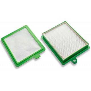 Set di filtri HEPA per Electrolux / AEG / Philips EF17