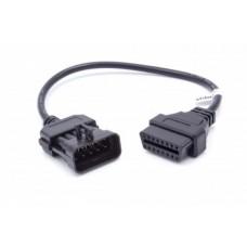 Adattatore da Opel 10-pin a OBD2