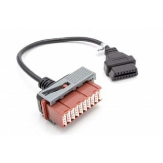 Adattatore da Citroen / Peugeot / PSA 30-pin a OBD2